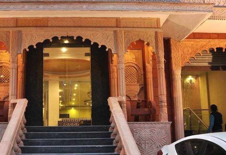 Hotel VB Heritage Heights, Jaipur, Entrada do hotel