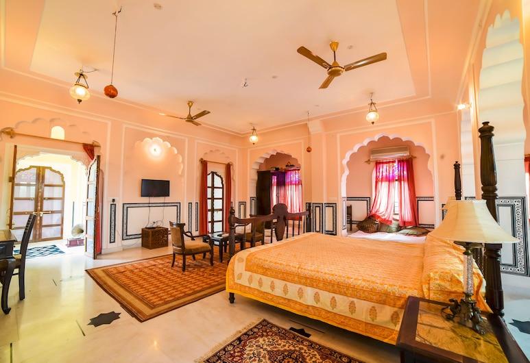Hotel Saba Haveli, Jaipur, Superior-sviitti, Vierashuone