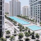 Signature-Apartment, Nichtraucher, Meerblick - Pool auf dem Dach