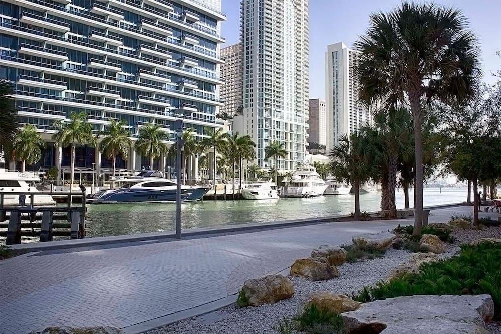 Premium-Apartment, Nichtraucher, Meerblick - Pool