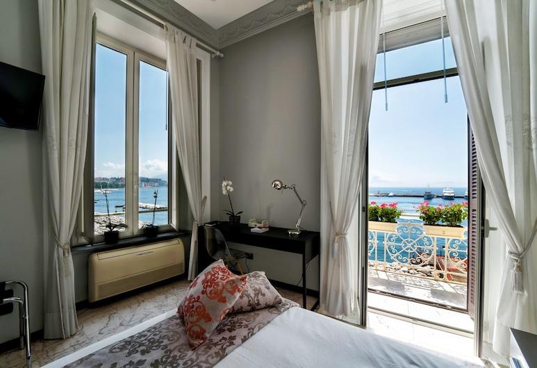 Seaside Caracciolo, Naples, Quarto Duplo Deluxe, Casa de Banho Privativa, Quarto