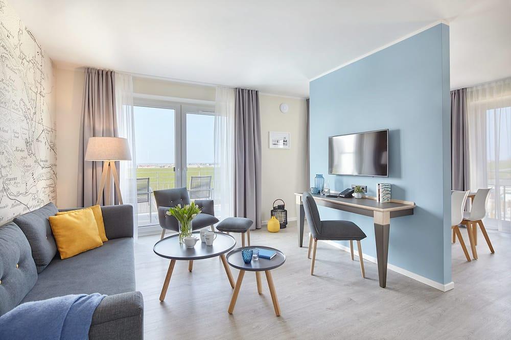Ferienwohnung, 2 Schlafzimmer - Wohnbereich