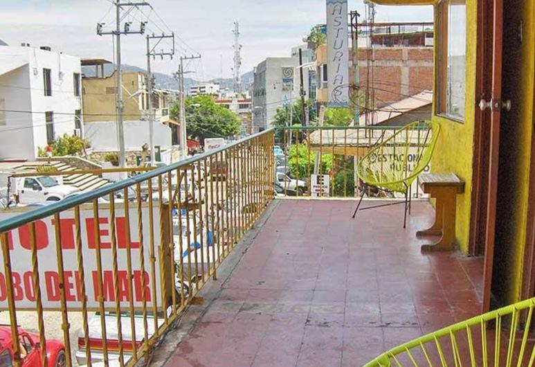 Hotel lobo del mar, Acapulco, Kahden hengen huone, Parveke