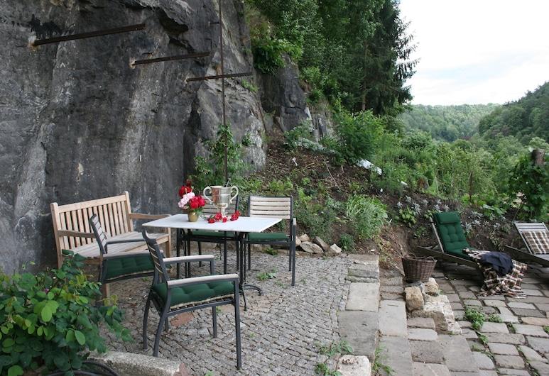 Villa Albrechtsburg, Bad Schandau, Puutarha