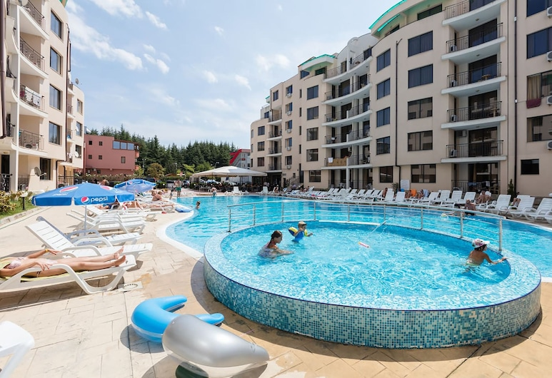 One Bedroom Apartment with Balcony, Sunny Beach, Alberca infantil