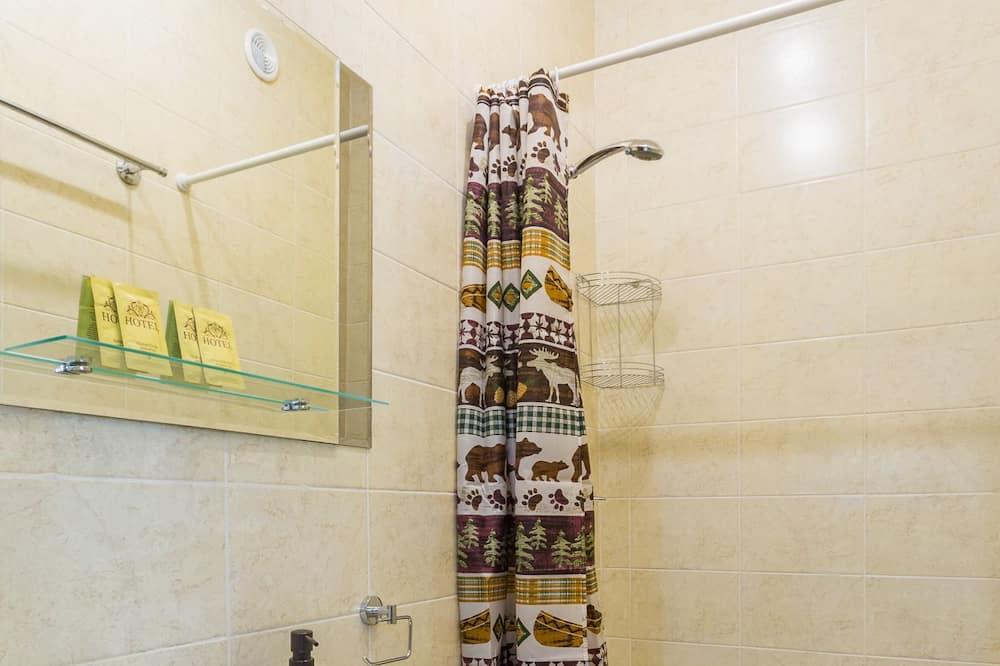 コンフォート ダブルルーム ダブルベッド 1 台 - バスルーム