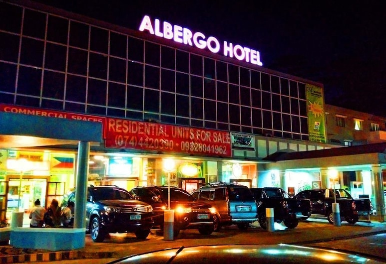 Baguio Suites @ Albergo Residence, Baguio, Front of property - evening