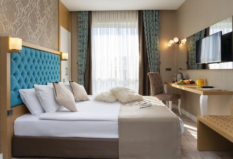 Niss Business Hotel, Konyaaltı, Standardzimmer, 1 Doppelbett oder 2 Einzelbetten, Ausblick vom Zimmer