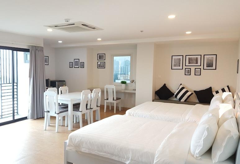 The Kinn, Bangkok, Familie studio suite, Kamer