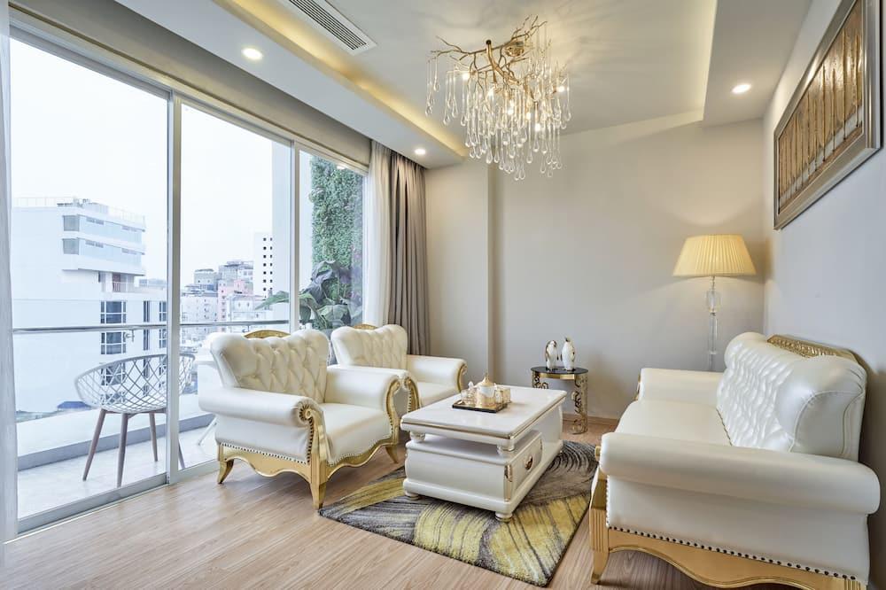 Suite (Panorama Two Bedroom) - Ruang Tamu