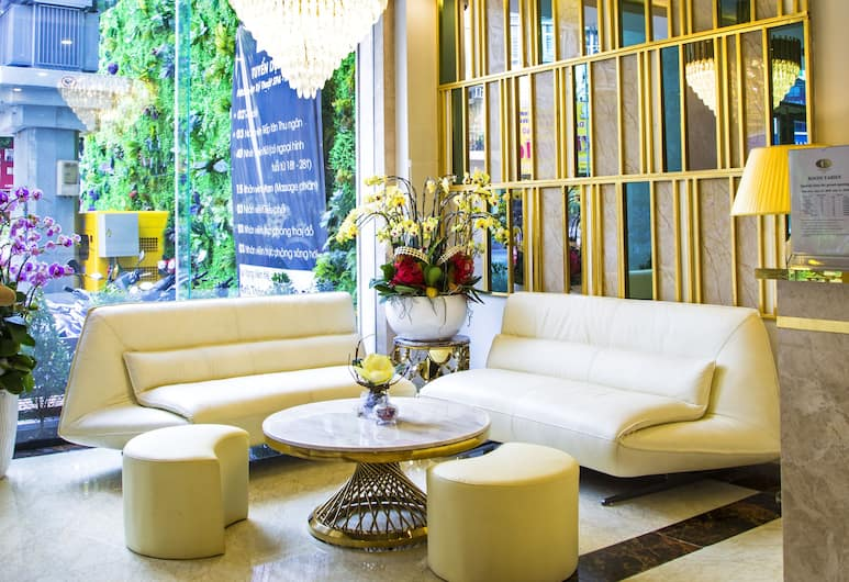 Cicilia Saigon Hotels & Spa, Ho Chi Minh City, Lobby Sitting Area