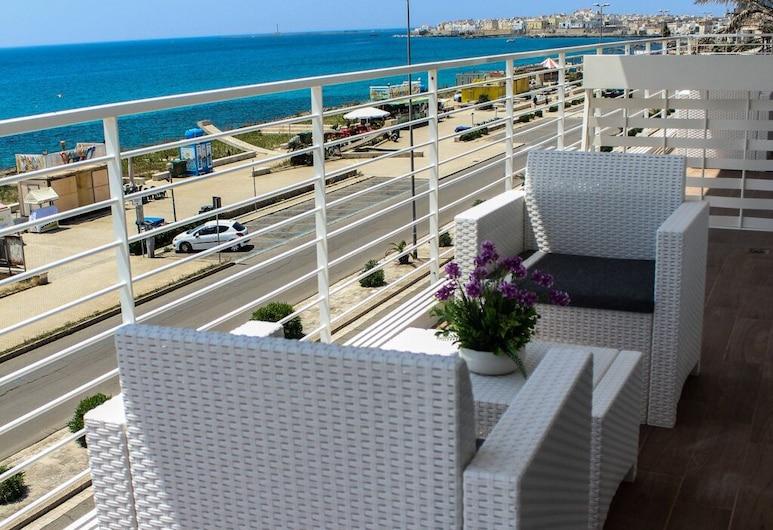 Spuma di Mare, Gallipoli, Deluxe szoba kétszemélyes ággyal, kilátással a tengerre, Vendégszoba