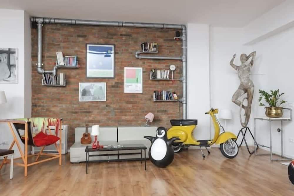 Appartement Design, 6 chambres - Coin séjour