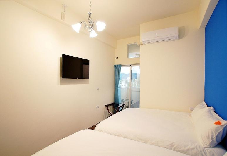 Trip Village-Taitung Trip, Ταϊτούνγκ, Standard Τετράκλινο Δωμάτιο, Μπαλκόνι, Θέα δωματίου