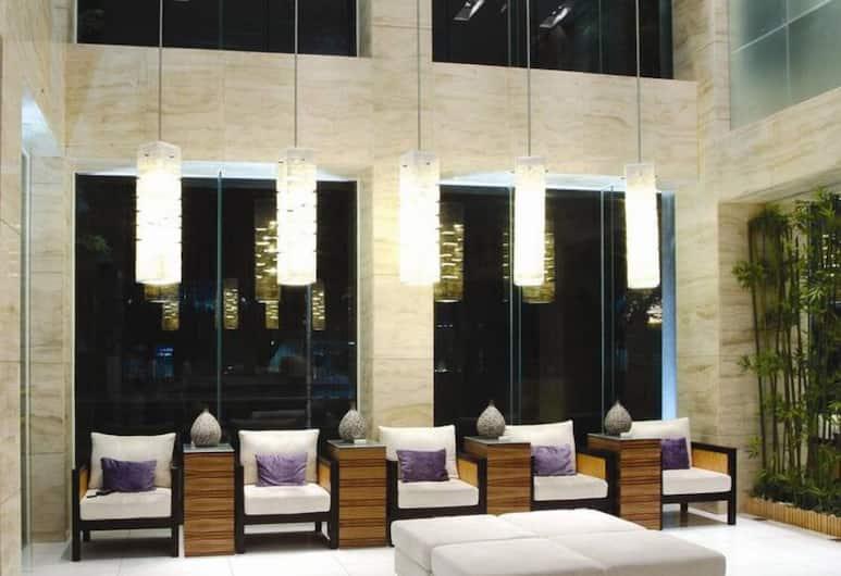 Shenzhen Hubei Hotel, Shenzhen, Prostor za sjedenje u predvorju