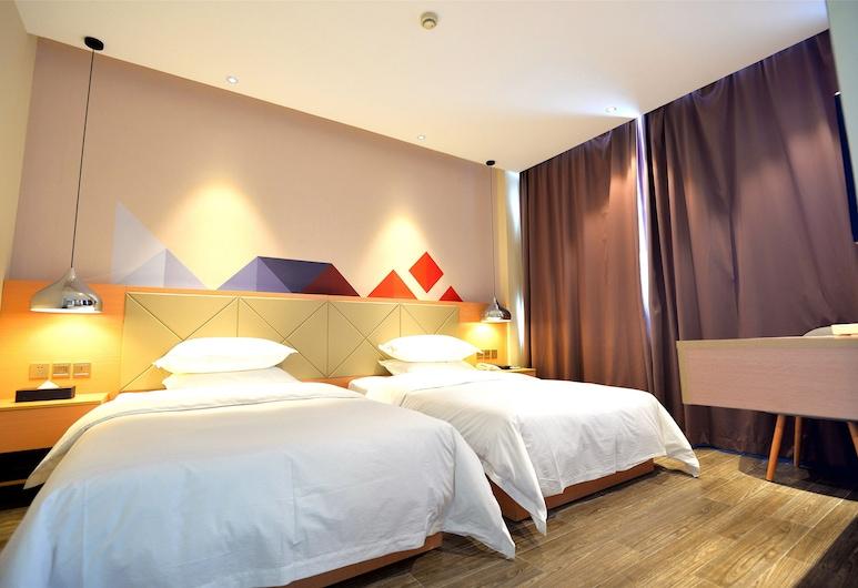柏曼酒店 (廣州新市歐亞達家居店), 廣州市, 曼享雙床房, 客房