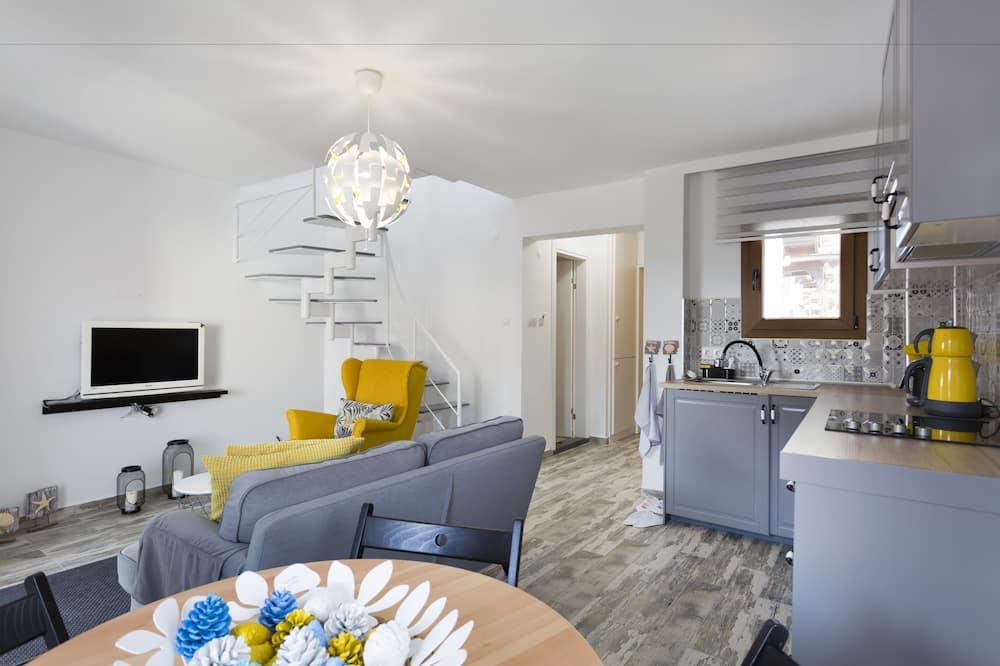 Išskirtinio tipo apartamentai - Svetainės zona