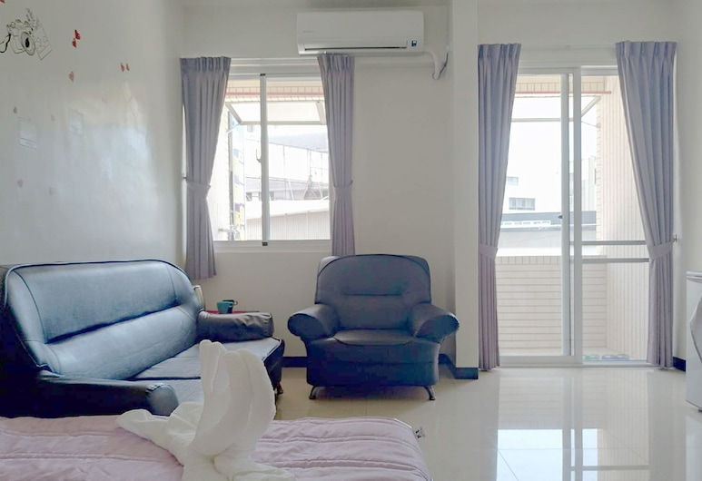 Traveler., Tainan, Dvivietis kambarys, vaizdas į miestą, Kambarys
