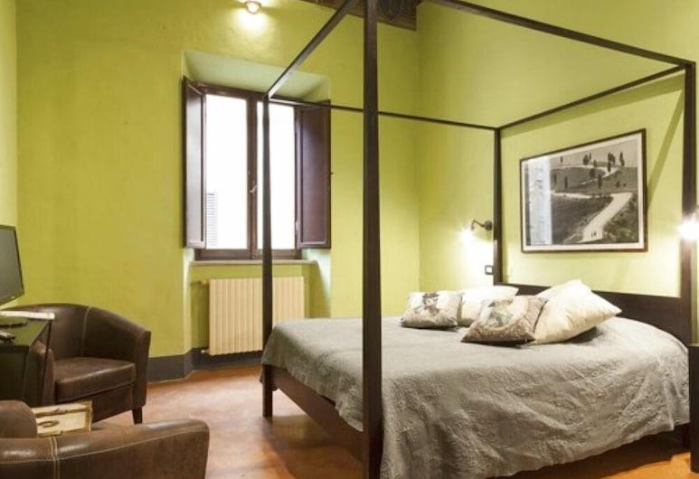 Affittacamere del Corso, Pienza, Chambre Double, vue ville (yellow, red, green), Chambre