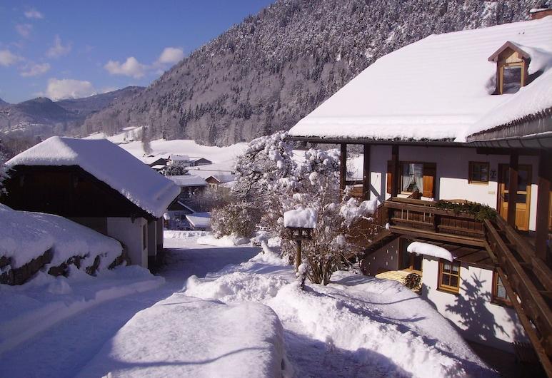 Ferienwohnung Vogelrast, Berchtesgaden, Hótelgarður