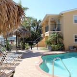شقة - غرفتا نوم - مع إمكانية استخدام المسبح - على المحيط - حمّام سباحة خارجي