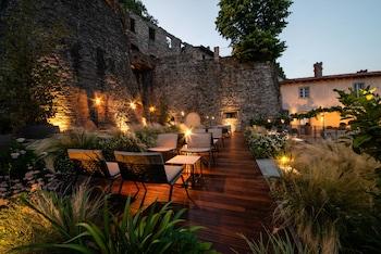 在贝加莫的瑞莱斯圣维吉里欧城堡酒店照片