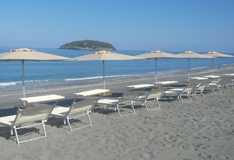 Camping Tropical, Diamante, Παραλία