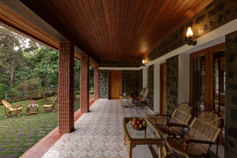 Cottage Deluxe, vue vallée - Balcon