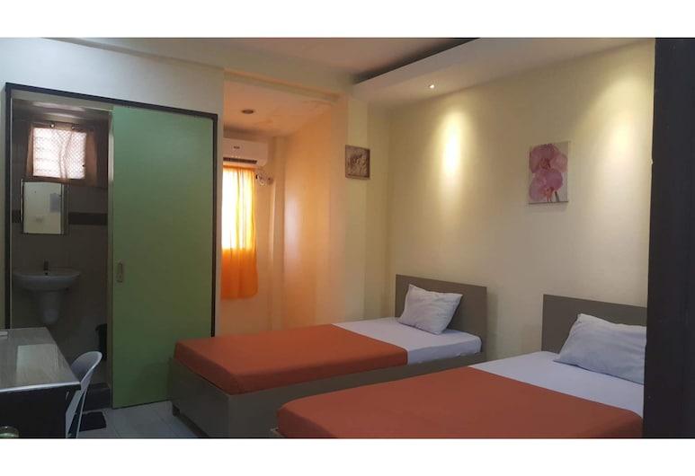 OYO 655 Mambaling Pension, Cebu, Standartinio tipo dvivietis kambarys (2 viengulės lovos), Svečių kambarys
