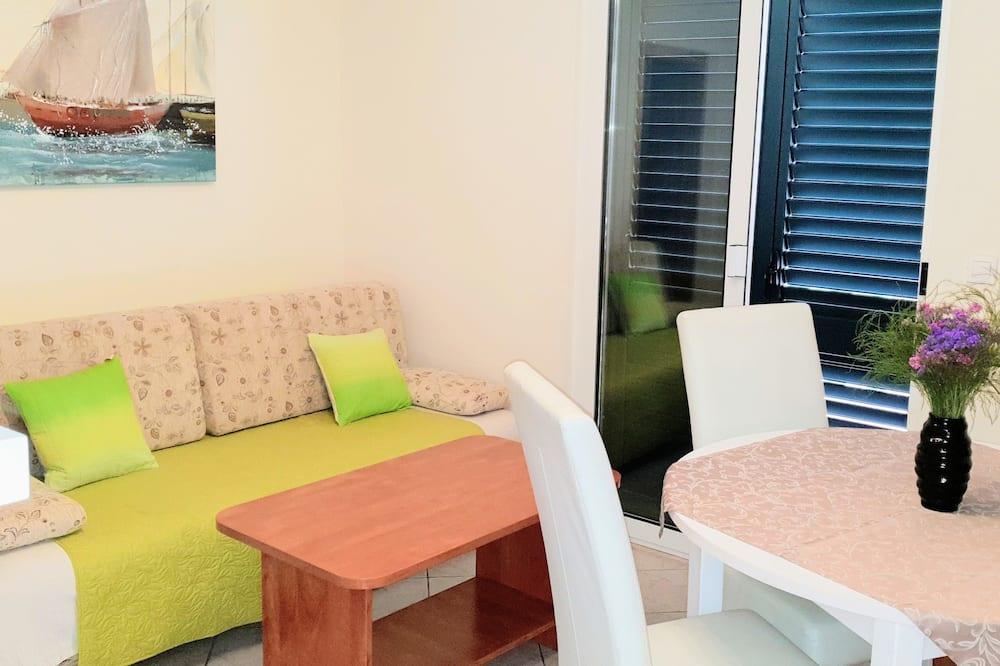 Appartement, 1 chambre, vue jardin - Salle de séjour