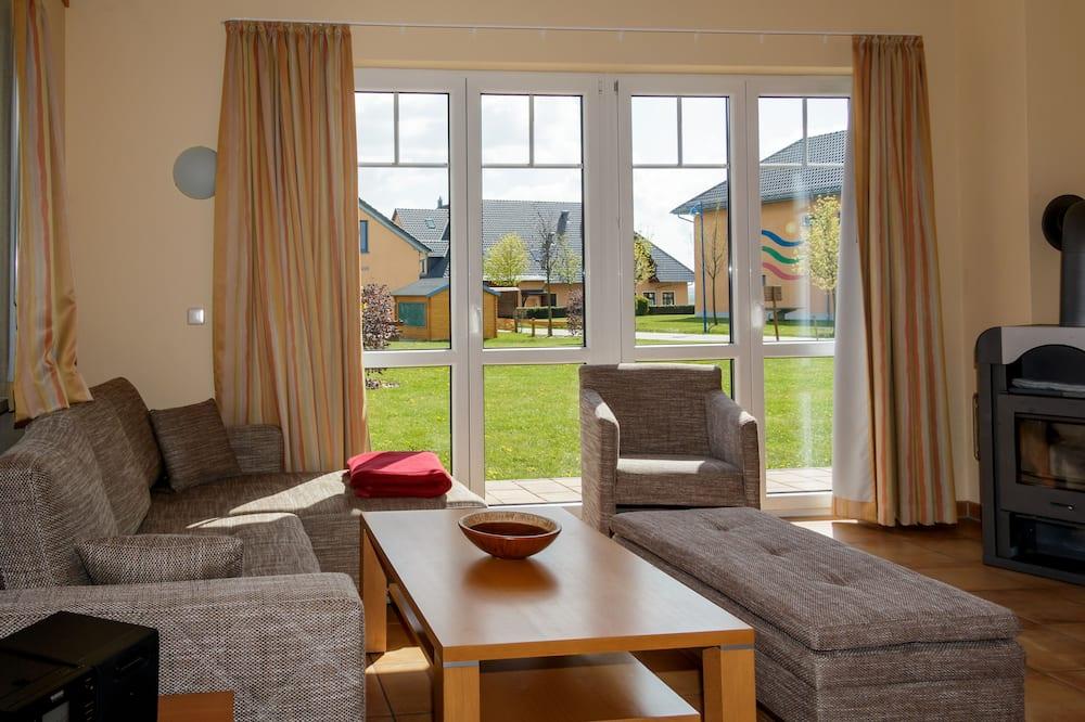 """Standard House, 3 Bedrooms (""""Silbermöwe"""") - Living Area"""