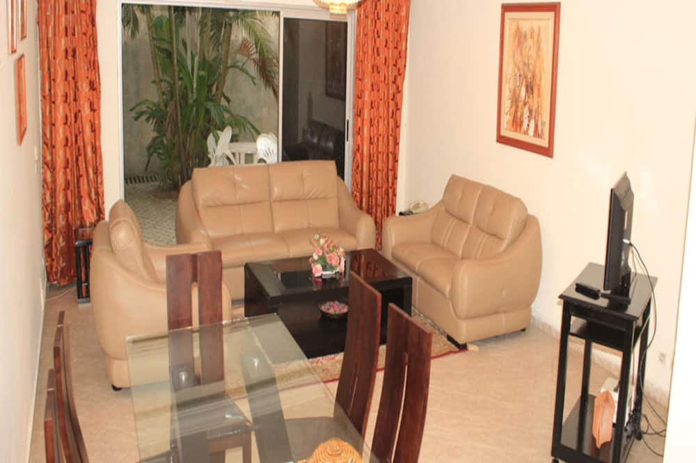 Loftsleilighet – comfort, 2 soverom, balkong - Oppholdsområde