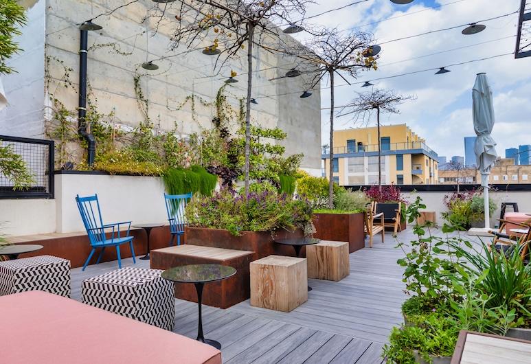 מלון פבריק - מלון בוטיק מרשת אטלס, תל אביב, מרפסת/פטיו