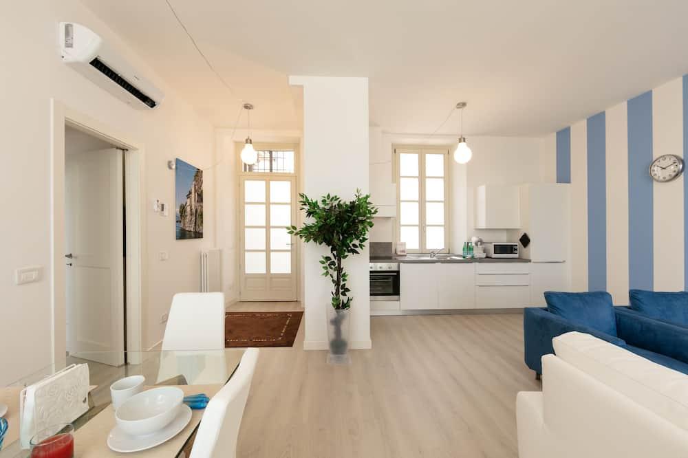 Familienapartment, 2Schlafzimmer, Seeblick - Wohnbereich