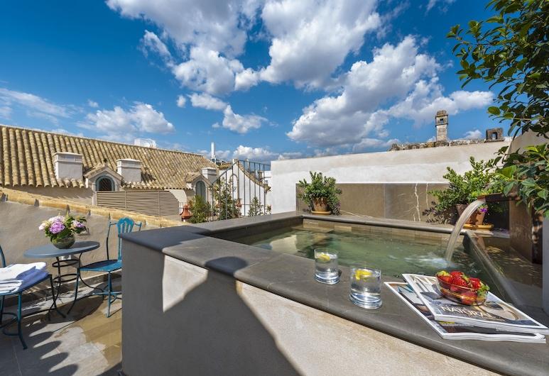 Palacio Bucarelli, เซบียา, เพนท์เฮาส์, สระว่ายน้ำส่วนตัว, ลานระเบียง/นอกชาน