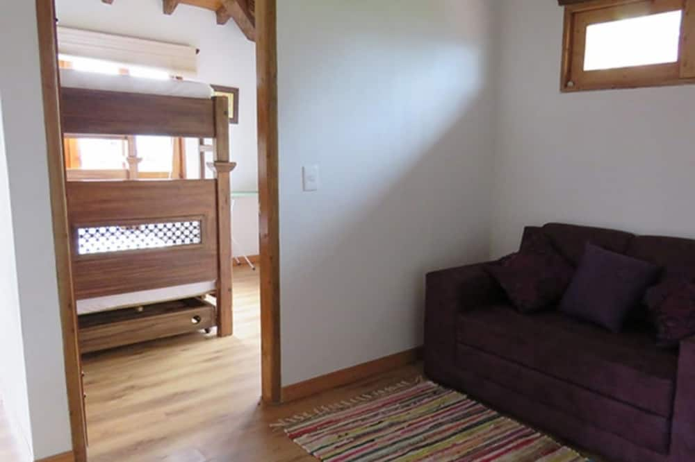 Cabin, 1 Double Bed with Sofa bed - Living Area