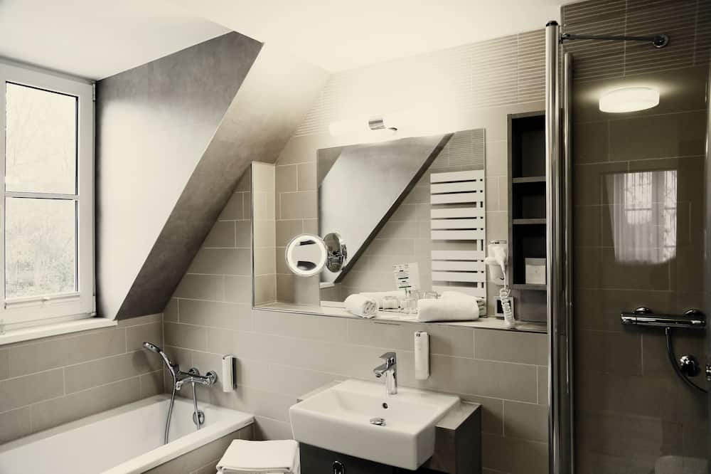 Suite Deluxe, sauna, vista giardino - Bagno