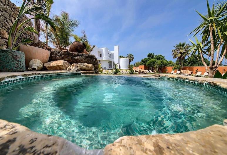 Apartamentos Turísticos Bahía de Trafalgar, Barbate, Venkovní vířivka