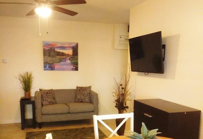 Pomme Gardens, Vieux Fort, Double Room, Kitchenette, Living Area
