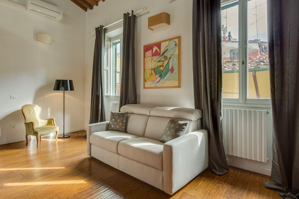 شقة - غرفة نوم واحدة - الغرفة