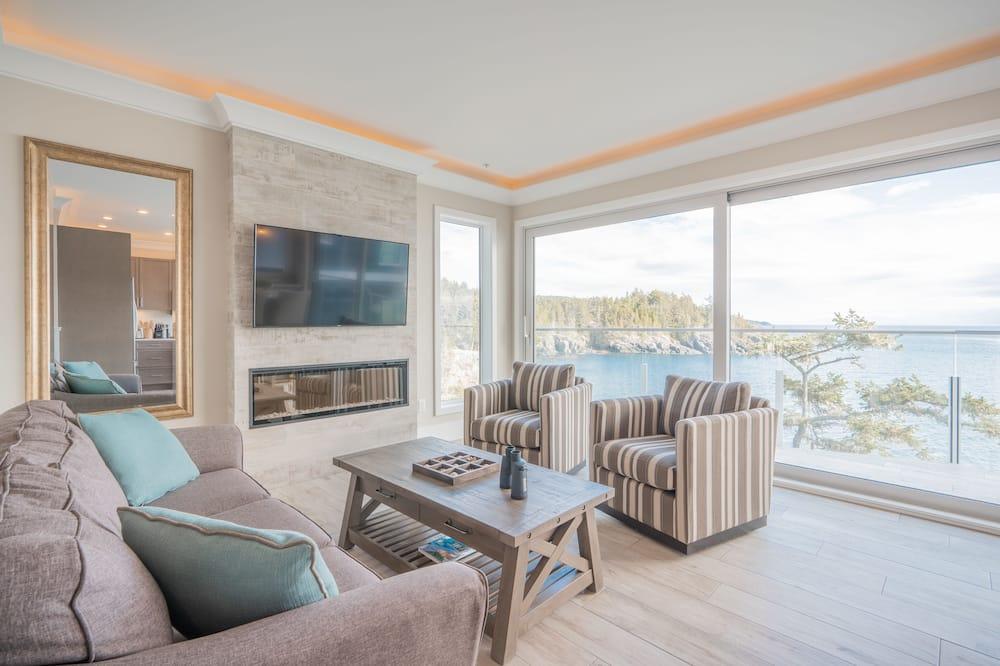 Suite, 2 Bedrooms, 2 Queen, Ocean View - Stue