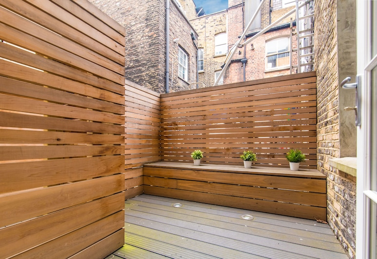 Lovely 1 bed apartment in Soho, London, City-Apartment, 1 Schlafzimmer, Terrasse, Terrasse/Patio