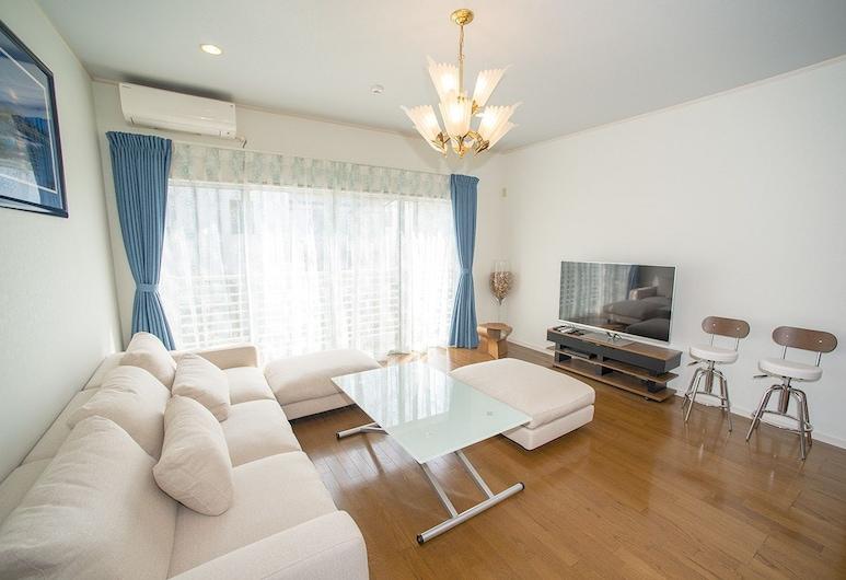Zushi Beach House, Zushi, Casa (Private Vacation), Sala de estar