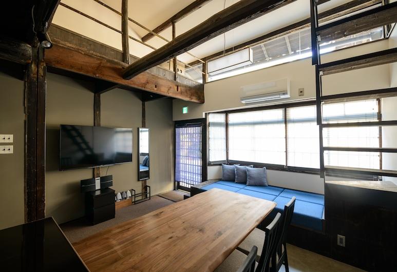 四季之家 - 劍魚飯店, Kyoto, Shiki Homes | TSURU KAME 鶴亀, 客廳