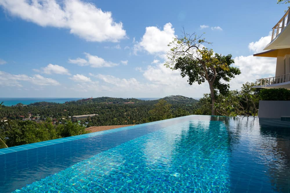 4-Bedroom Pool Villa  - Terras