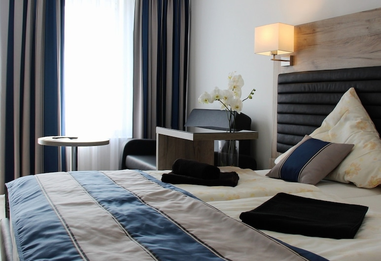 Hotel Zum Halbmond, Lauenburgas, Vienvietis kambarys, vaizdas į kanalą, Svečių kambarys