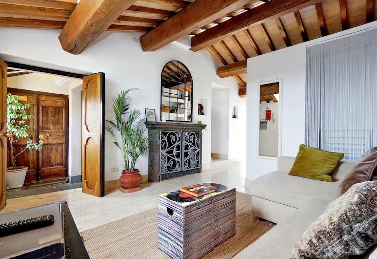 Pantheon Luxury Terrace Attic, Rome, Living Area