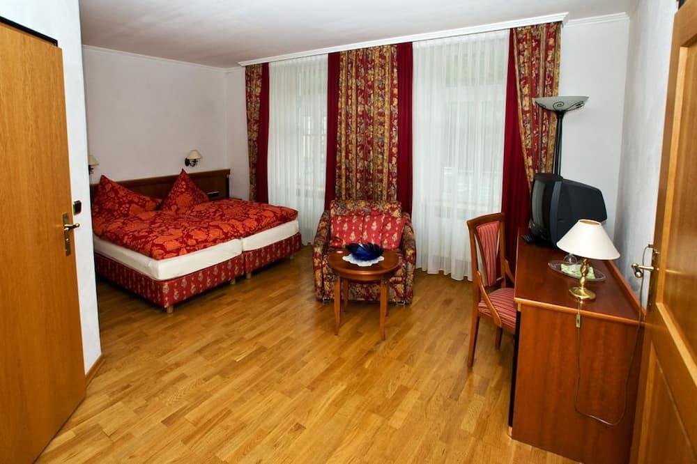 Deluxe tweepersoonskamer, 1 slaapkamer - Woonruimte