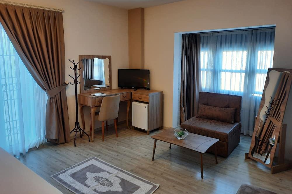 Economy-Doppel- oder -Zweibettzimmer - Wohnbereich