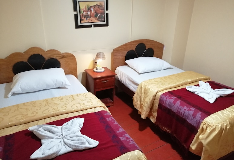 Hostal Hatun Rumi, Cusco, Twin Room, 2 Single Beds, Private Bathroom, Guest Room View